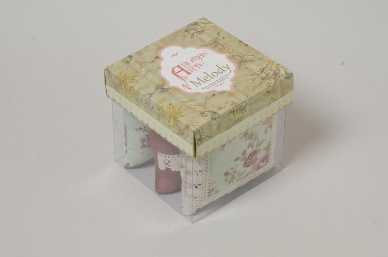 Caixa de três Almofadinhas Perfumadas Aroma Melody