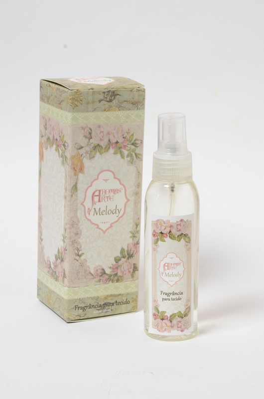 Fragrância para tecidos aroma Melody