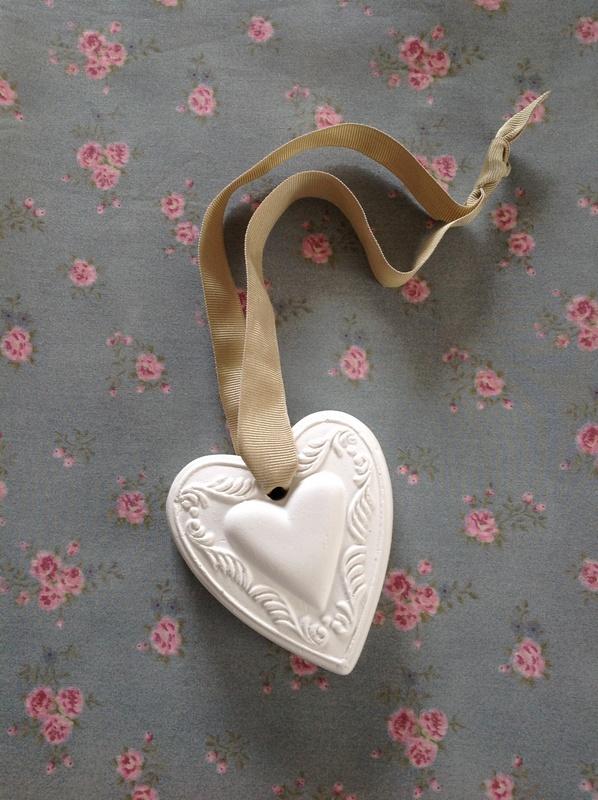 Coração com Coração de pendurar  Lillys Secret