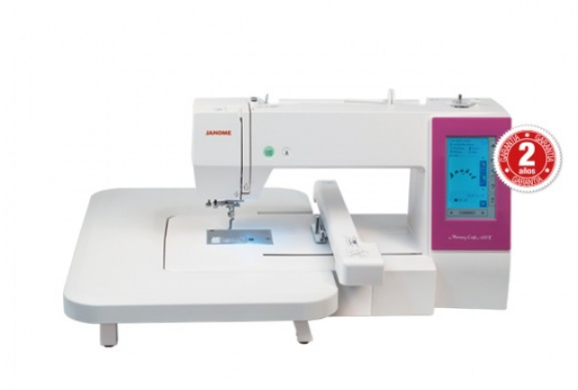 máquina de costura de bordar electrónica MCC450E