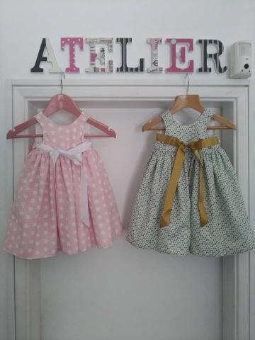 Vestido de Inverno para Bebê no Elo7 | Ateliê de Costura