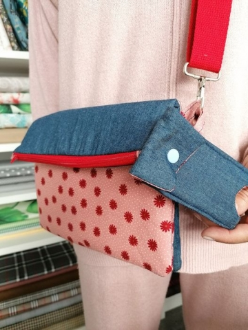 kit bolsa de desconfinamento + oferta de porta gel