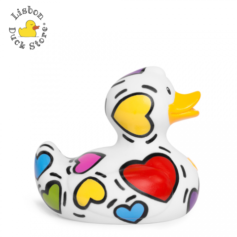 Luxury Pop Heart Duck