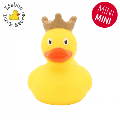 Mini Yellow Duck with Crown