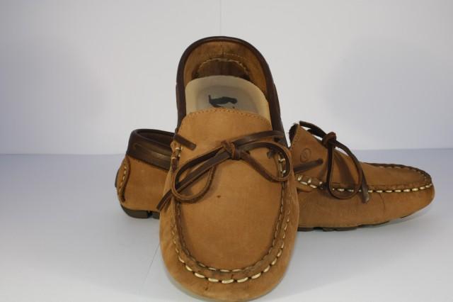 8916B Camel - Sapato de Senhora em Nobuck